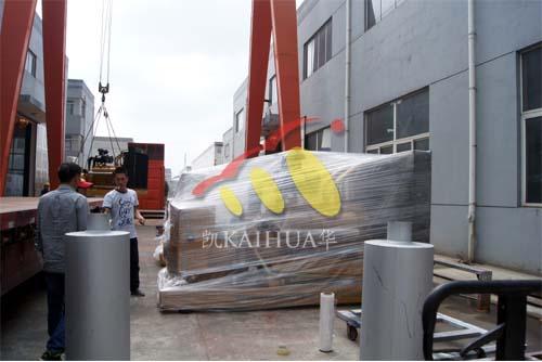 500KW上柴发电机组今日成功出厂 发货现场 第2张