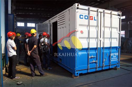 浙江船用康明斯集装箱机组今日成功出厂 发货现场 第2张