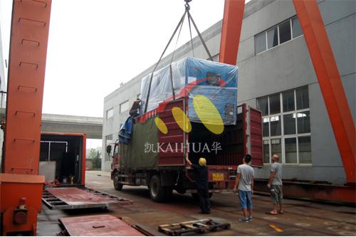 出口安哥拉1台400KW静音机组今日成功出厂 发货现场 第3张