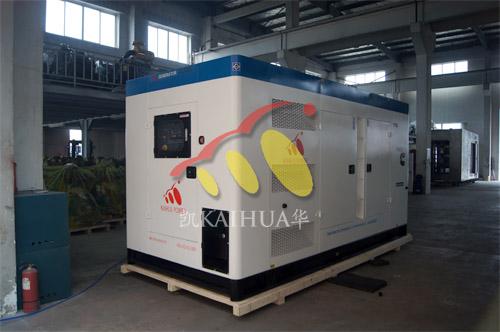 出口苏丹1台250KW康明斯静音机组今日成功出厂 发货现场 第1张