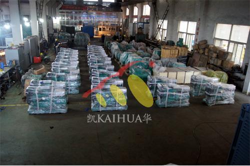 河南水利局一批潍坊柴油发电机组今日成功出厂 发货现场 第2张