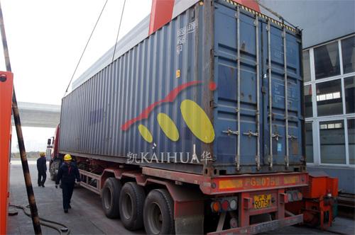 出口缅甸1台1000KW康明斯静音机组今日成功出厂 发货现场 第3张