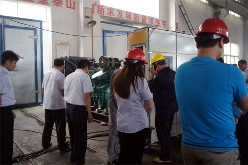 今日河南客户来工厂验收500KW沃尔沃高压机组 公司新闻 第2张