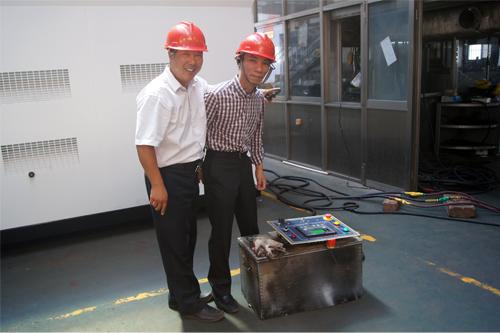 东南亚客户今日来我工厂实地考察 公司新闻 第2张