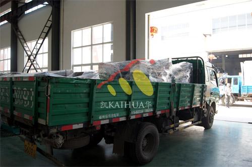 河南水利局4台20KW玉柴发电机组今日成功出厂 发货现场 第3张