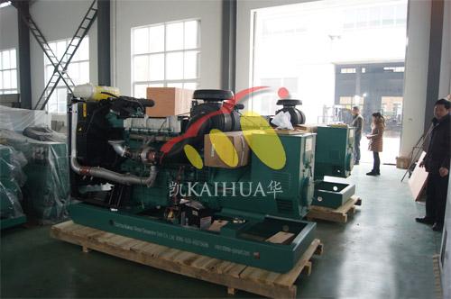 内蒙古赤峰2台220KW沃尔沃并机机组今日成功出厂 发货现场 第2张