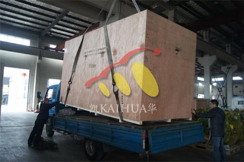 出口苏丹1台250KW康明斯静音机组今日成功出厂 发货现场 第3张