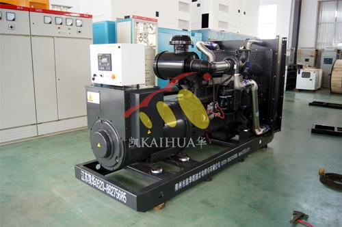 山西房地产1台350KW上柴发电机组今日成功出厂