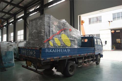 合肥工业设备1台400KW上柴发电机组今日成功出厂 发货现场 第3张