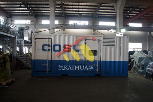 浙江船用康明斯集装箱机组今日成功出厂 发货现场 第1张