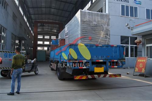 非洲2台200KW集装箱式发电机组今日成功出厂 发货现场 第3张