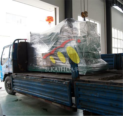 广西1台康明斯发电机组今日成功出厂 发货现场 第2张
