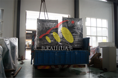 上海2台康明斯发电机组今日成功出厂 发货现场 第3张