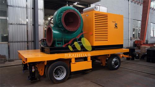 杭州2台移动式静音泵站机组成功出厂 发货现场 第2张