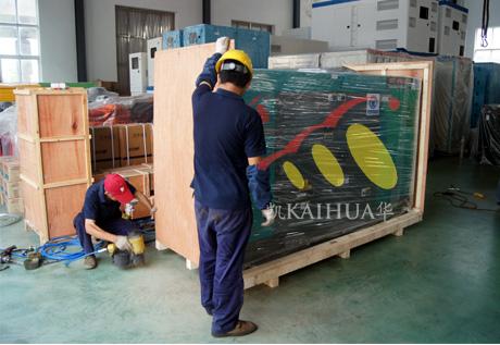 东南亚展会1台康明斯静音机组样机正式启运 公司新闻 第2张
