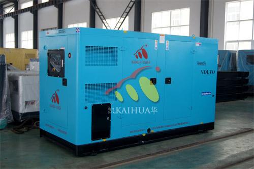出口澳洲1台200KW沃尔沃静音机组今日成功出厂 发货现场 第1张
