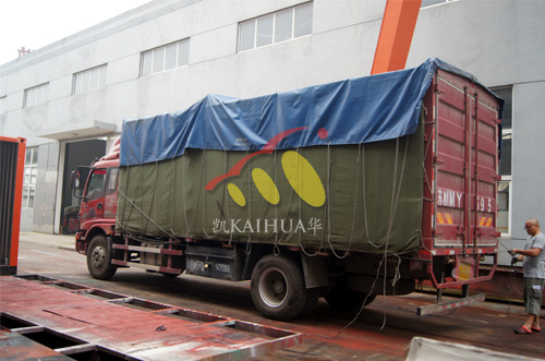 出口安哥拉1台400KW静音机组今日成功出厂 发货现场 第4张