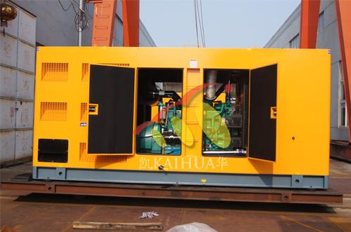 菲律宾2台康明斯ATS静音机组今日成功出厂 发货现场 第2张