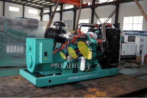 上海铁路公司150KW康明斯燃气机组今日成功出厂