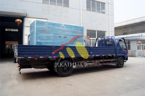 出口澳洲1台200KW沃尔沃静音机组今日成功出厂 发货现场 第3张