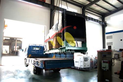 云南普洱油业1台250KW康明斯ATS柴油发电机组今日成功出厂 发货现场 第3张