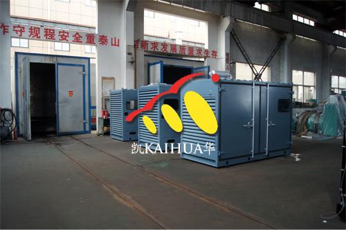 非洲2台200KW集装箱式发电机组今日成功出厂 发货现场 第1张