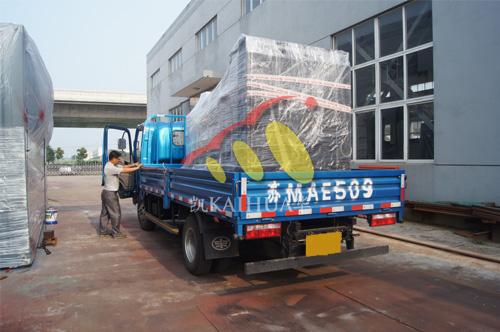 上海1台500KW大宇发电机组今日成功出厂 发货现场 第4张