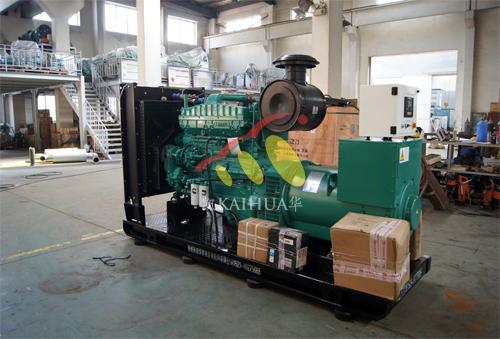 西藏1台300KW康明斯发电机成功出厂