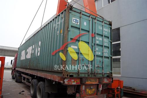 出口柬埔寨4台350KW珀金斯水泵机组今日成功出厂 发货现场 第4张
