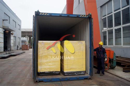 出口南非12台发电机组今日成功出厂 发货现场 第2张