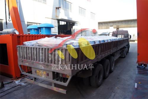 南京水利水电20台20KW常柴发电机组今日成功出厂 发货现场 第3张