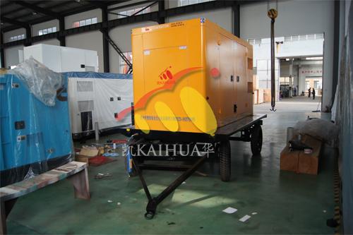 上海1台移动低噪音发电机组成功出厂 发货现场 第2张