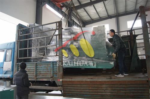 江西人民医院1台640KW无动机组今日成功出厂 发货现场 第2张
