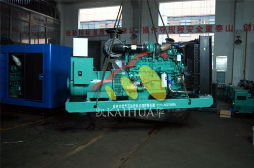 江苏纺织厂1台300KW康明斯发电机组今日成功出厂 发货现场 第1张