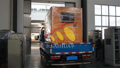 广东1台康明斯发电机组今日成功出厂 发货现场 第3张