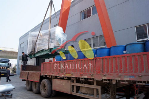 江西房地产1台800KW无动机组今日成功出厂 发货现场 第3张