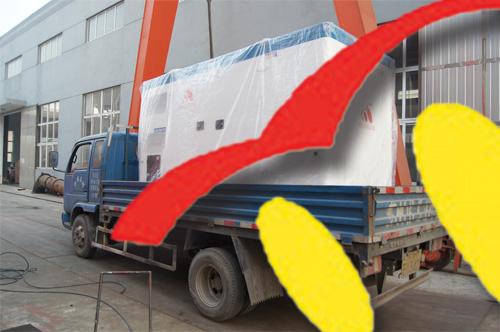 昆山1台250KW上柴静音机组今日成功出厂 发货现场 第3张