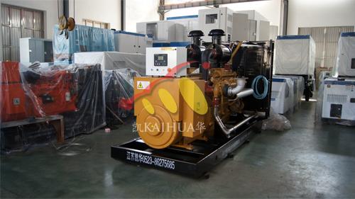 广西1台500KW台上柴发电机组成功出厂 发货现场 第1张