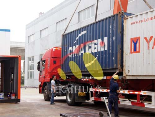 出口埃塞俄比亚2台200KW康明斯机组成功出厂 发货现场 第3张