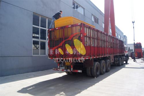 鄂厄多斯煤矿1台350KW玉柴移动式机组今日成功出厂 发货现场 第3张