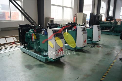 宁夏电力工程3台50KW康明斯ATS机组今日成功出厂