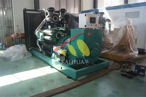 郑州交通学校1台600KW上柴发电机组今日成功出厂 发货现场 第1张