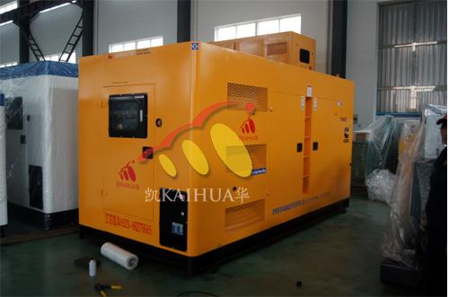 黑龙江1台250KW静音发电机组今日成功出厂 发货现场 第1张