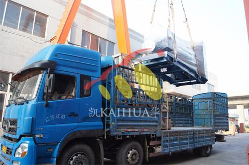 西藏阿里1台900KWMTU发电机组今日成功出厂 发货现场 第2张