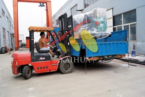 上海铁路公司150KW康明斯燃气机组今日成功出厂 发货现场 第4张