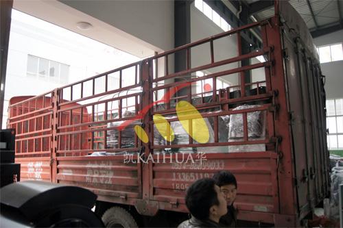 宁夏电力工程3台50KW康明斯ATS机组今日成功出厂 发货现场 第3张