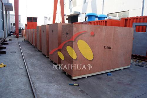 出口南非13台康明斯静音机组今日成功出厂 发货现场 第2张