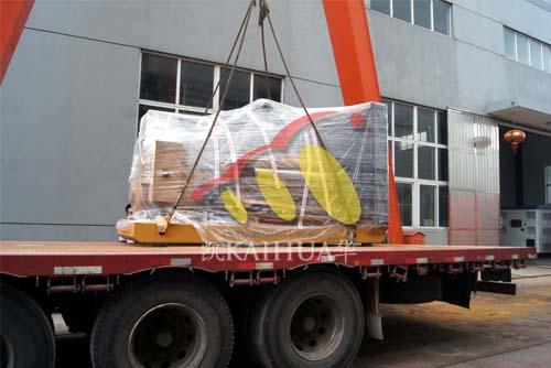 500KW上柴发电机组今日成功出厂 发货现场 第3张