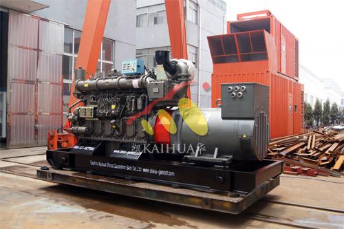 湖北船厂1台500KW玉柴船用发电机组今日成功出厂 发货现场 第1张