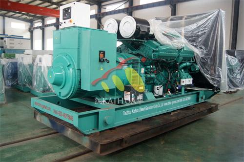 出口俄罗斯1台1000KW康明斯发电机组今日成功出厂